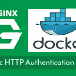 Nginx Basic auth for private registry pull and push