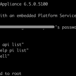 How to create new vCenter local account using VCSA CLI