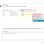 Convert Thick based volumes to Thin in VMware ESXi